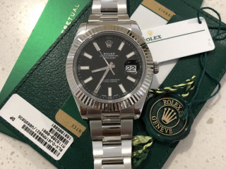Rolex datejust ii stainless