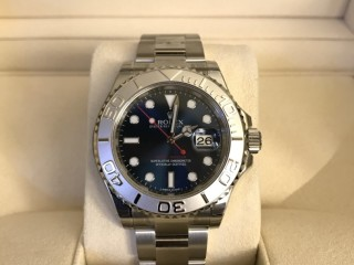 Rolex yacht master i blue dial